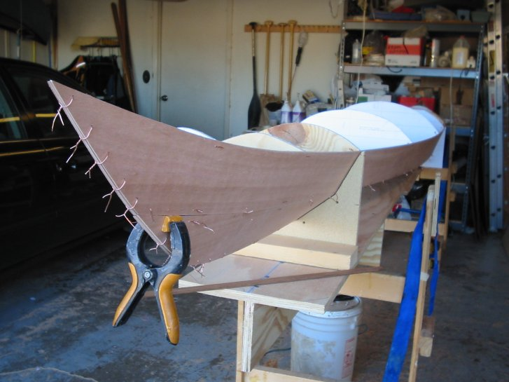 Benadi: Stitch and glue kayak plans Learn how